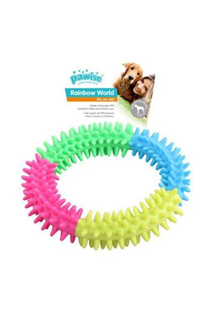 Pawise Rainbow Köpekler Için Diş Kaşıma Oyuncağı Small