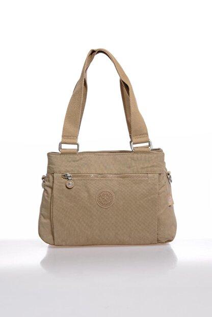 Smart Bags Smbky1125-0015 Vizon Kadın Omuz Çantası