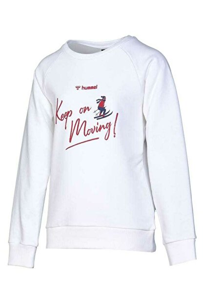 HUMMEL Kız Çocuk Ringe Beyaz Sweatshirt 921033-9973