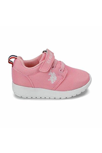 US Polo Assn HONEY Pembe Kız Çocuk Sneaker 100241593