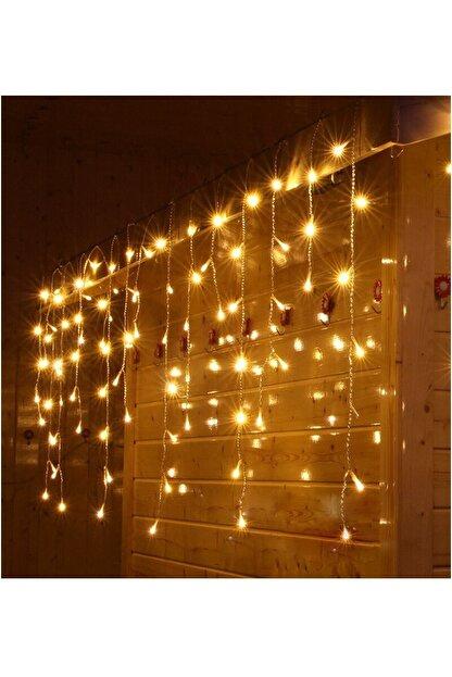 Sezy Eklemeli Perde Led Işık Ip Saçak Sarkıt Yılbaşı Çam Ağacı Dekor Animasyonlu 4x50*60*70