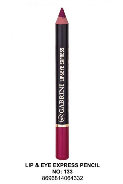 Gabrini Lip- Eye Pencil 133