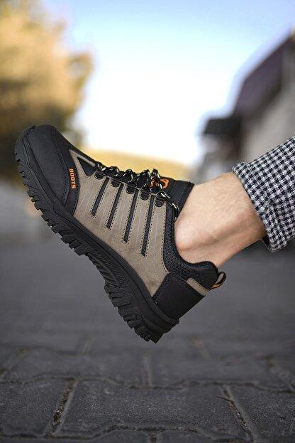 Riccon Vizon Siyah Erkek Trekking Ayakkabı 0012115