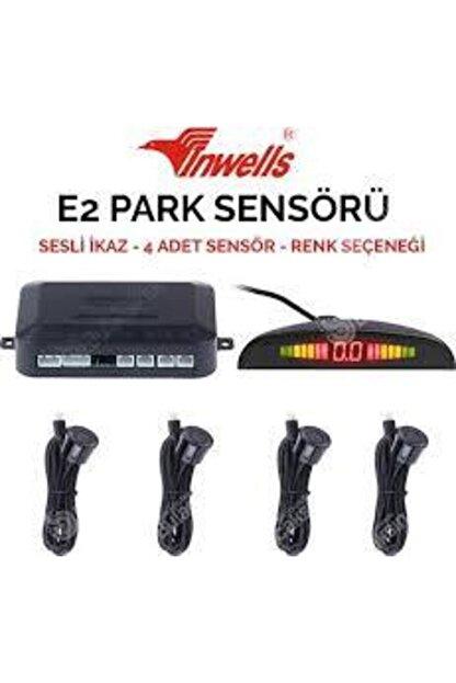 Inwells Inwelspark Sensoru Sesli E2 4 Sensorlu Ekranlı Siyah