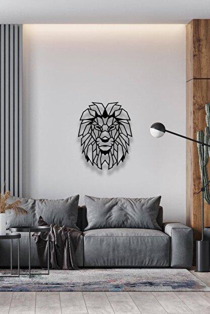 Decoration and You Aslan Dekoratif Metal Tablo Lazer Kesim