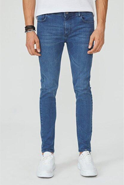Avva Erkek Mavi Skinny Fit Jean Pantolon A02y3589