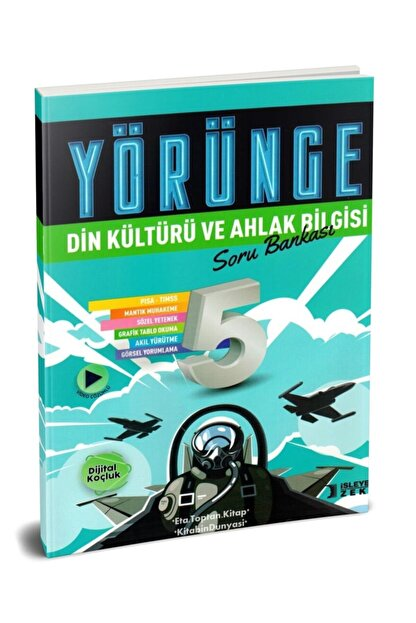 İşleyen Zeka Yayınları Işleyen Zeka 5. Sınıf Din Kültürü Yörünge Serisi Soru Bankası Yeni 2021