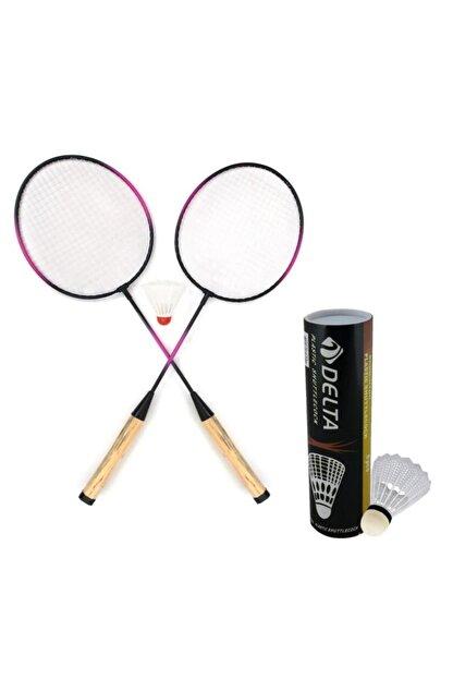 Delta 2 Adet Badminton Raketi & 7 Adet Badminton Topu Oyun Seti Fiyatı,  Yorumları - Trendyol