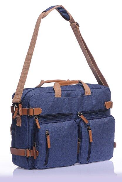 Sword Bag Mavi Unısex 17.3inç Laptop&evrak Çantası Sw2100