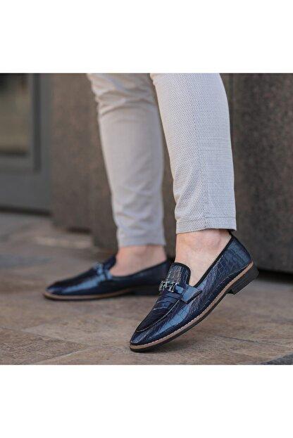 CORCİK Klasik Ayakkabı Lacivert