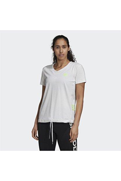 adidas Kadın Beyaz Tişört Gd4632