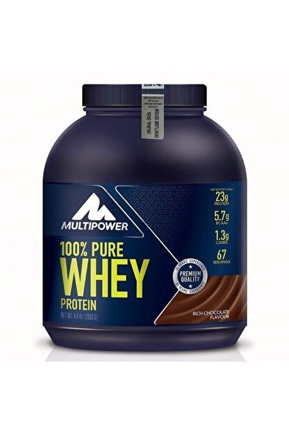 Multipower %100 Pure Whey Protein 2000 gr - Çikolata