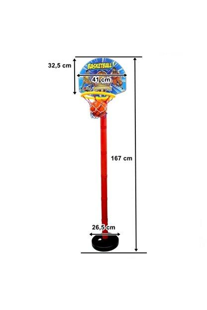 GÜÇLÜ Ayaklı Basketbol Potası 167 Cm