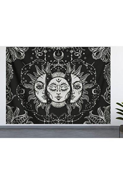ALAMODE Güneş Ve Ay Duvar Örtüsü (70X100, 100X140, 140X200) Duvar Halısı
