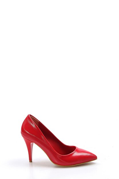 Fast Step Kırmızı Rugan Kadın Stiletto Ayakkabı 629za039-087