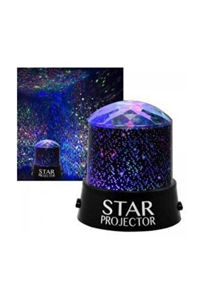 Ulbay Projeksiyon Gece Lambası Yıldızlı Led Lamba