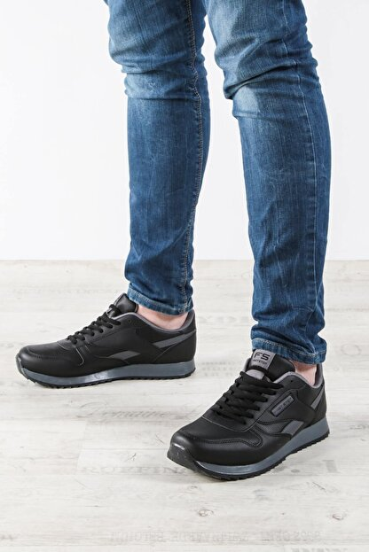 Fast Step Siyah File Erkek Sneaker Ayakkabı 865ma5010
