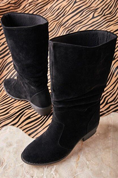 Bambi Sıyah Çizme K0709010072