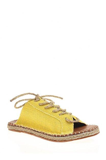 Derigo Sarı Çuval Kadın Terlik 333250