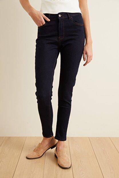 adL Kadın Lacivert Skinny Jean Pantolon 15339444000