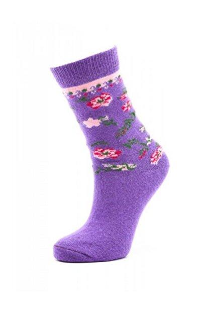 Paktaş Kadın Yünlü Soket Çorabı | Pak2523