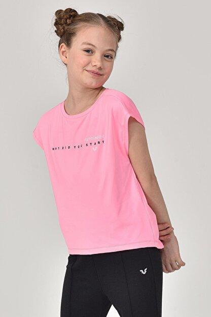 bilcee Kız Çocuk T-shirt Gs-8158