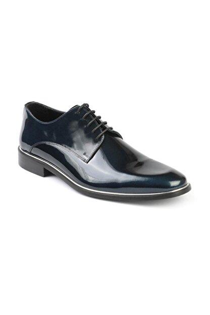 Libero 2140 Lacivert Rugan Baskılı Klasik Ayakkabı