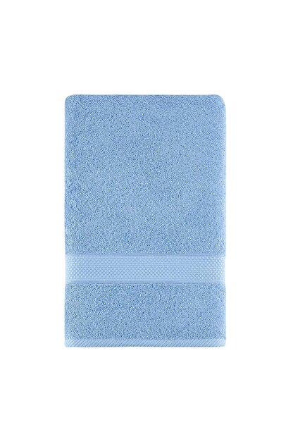 Arya Home Miranda Soft Düz Yüz Havlusu Açık Mavi