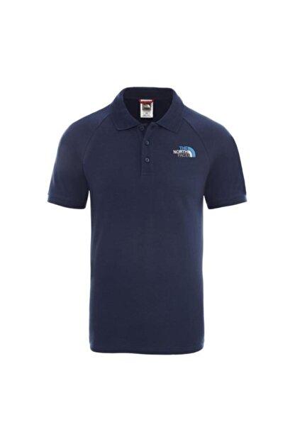 The North Face Raglan J Polo Erkek T-shirt Lacivert Nf0a3bq2n4l1ss-2