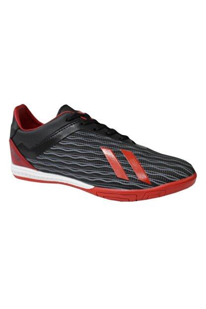 Jump 25849 Siyah-kırmızı Halı Saha Erkek Futbol Ayakkabı
