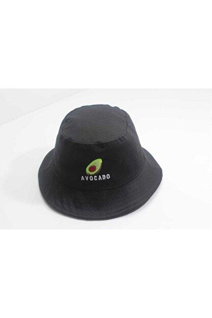 Accessory City Avocado Amblemli Bucket Şapka
