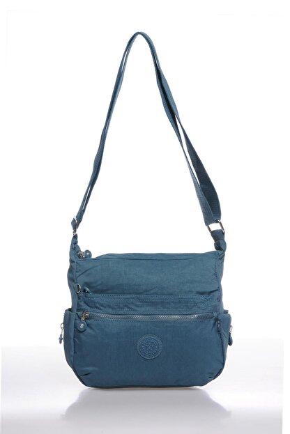 Smart Bags Smbk1056-0050 Buz Mavi Kadın Çapraz Çanta