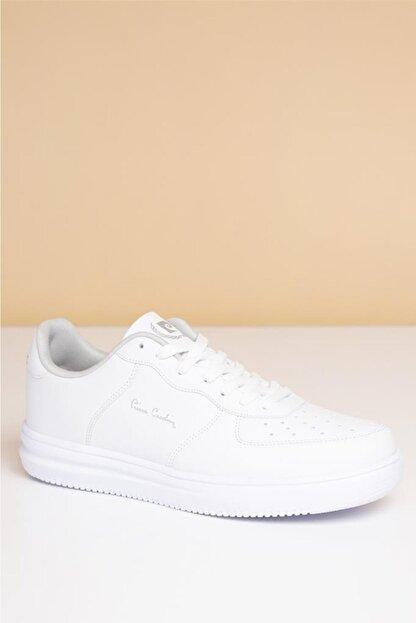 Pierre Cardin Erkek Günlük Spor Ayakkabı-Beyaz PCS-10155