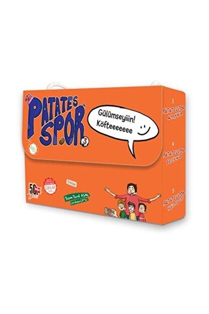 Nesil Çocuk Yayınları Patates Spor 3 5 Kitap Takım