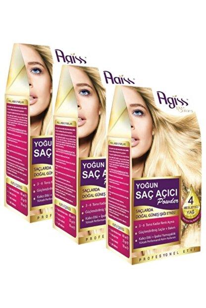 AGISS 3 Adet Agiss Yoğun Saç Açıcı Powder
