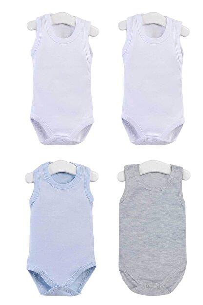 Pattaya Kids Bebek Kolsuz Çıtçıtlı Body 0-36 Ay Ptk20s-401
