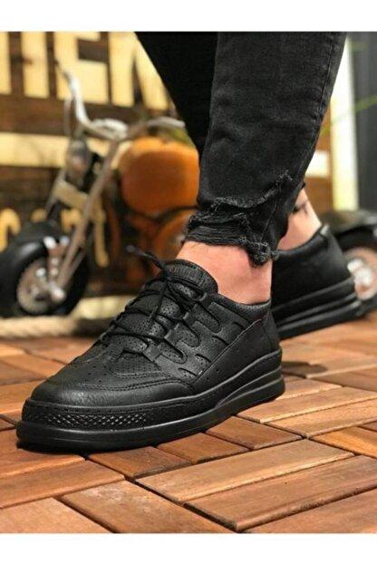 Marsetti Erkek Siyah Spor Ayakkabı