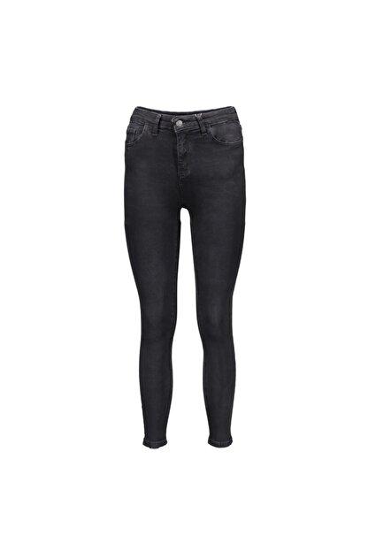 Collezione Siyah Kadın Denim Pantolon
