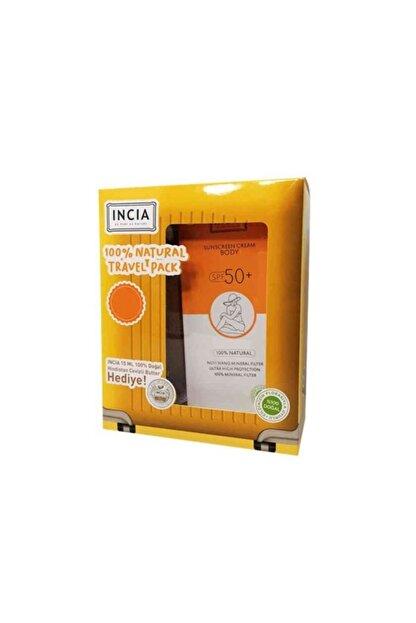 INCIA Sunscreen Cream Body Spf50+ 150ml Set
