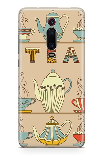 Melefoni Xiaomi Mi 9t Kılıf Tea Time Serisi Hayden