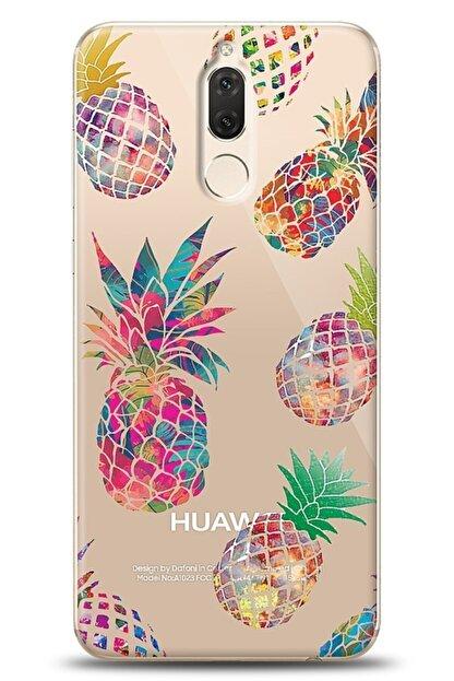 Eiroo Huawei Mate 10 Lite Iridescent Pineapple Kılıf