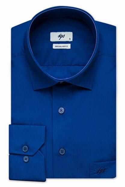 İgs Erkek Parlament Regularfıt / Rahat Kalıp Std Gömlek