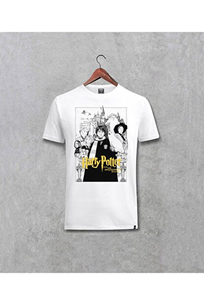 Darkia Harry Potter Film Karakterleri Baskılı Yazılı Tasarım Tişört