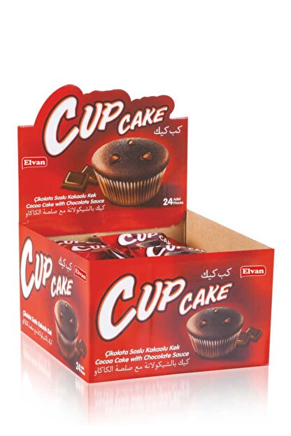 Elvan Cupcake 23gr. 24 Adet (1 Kutu)