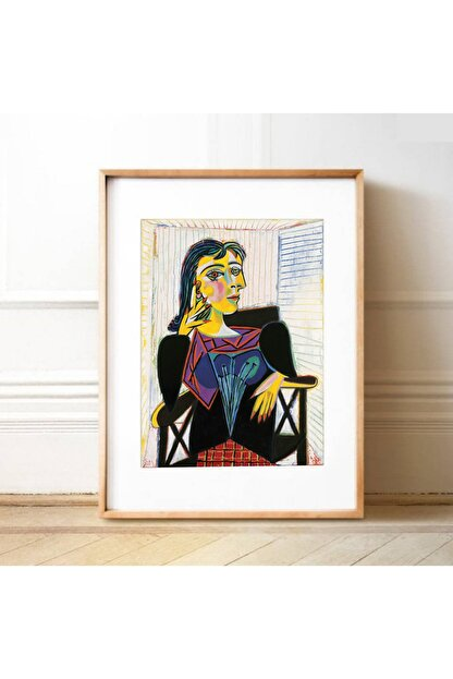 Vona Vintage Dora Maar Painting Pablo Picasso Poster