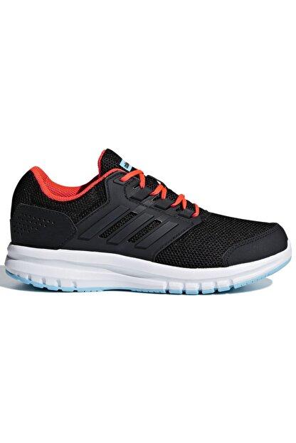 adidas Galaxy 4 K Siyah Turuncu Beyaz Erkek Çocuk Koşu Ayakkabısı 100350700