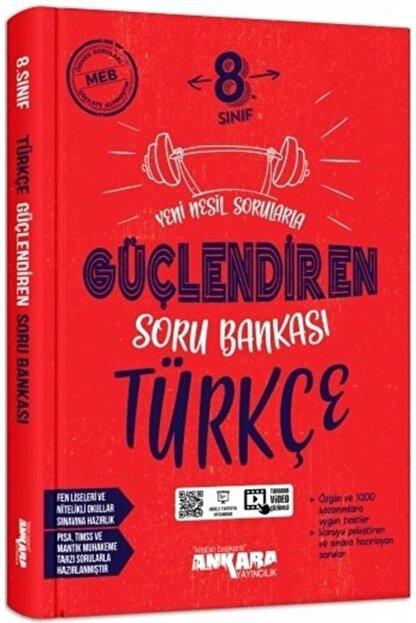 Ankara Yayınları Ankara 8. Sınıf Güçlendiren Soru Bankası Türkçe