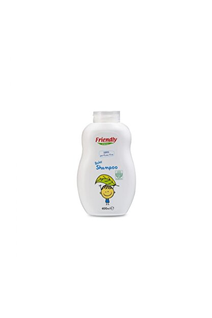 Friendly Organic Parfümsüz Bebek Şampuanı - 400 ml