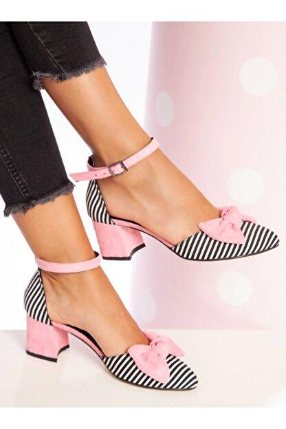 ayakkabıhavuzu Kadın Pembe Topuklu Ayakkabı