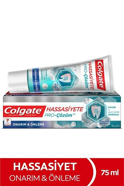 Colgate Hassasiyete Pro Çözüm Onarım ve Önleme Sensitive Sensitive Pro Relief Diş Macunu 75 ml